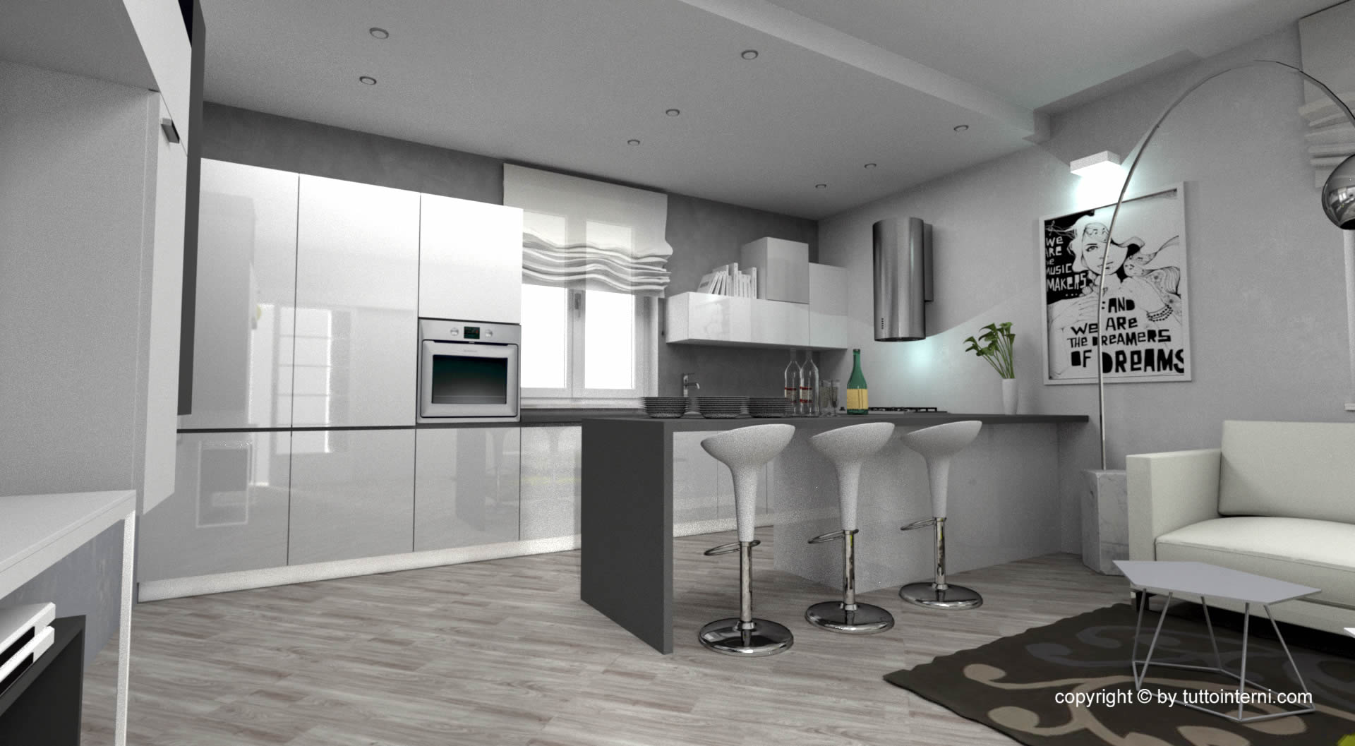 progettazione arredamento cucine