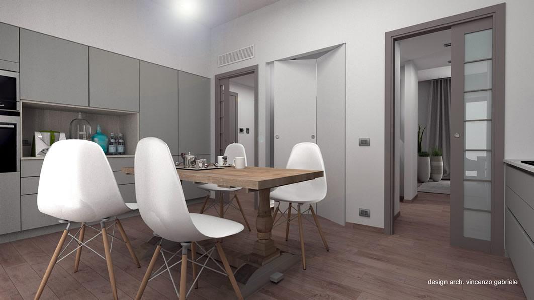 Progettazione interni appartamento a grosseto - Progettazione spazi interni ...
