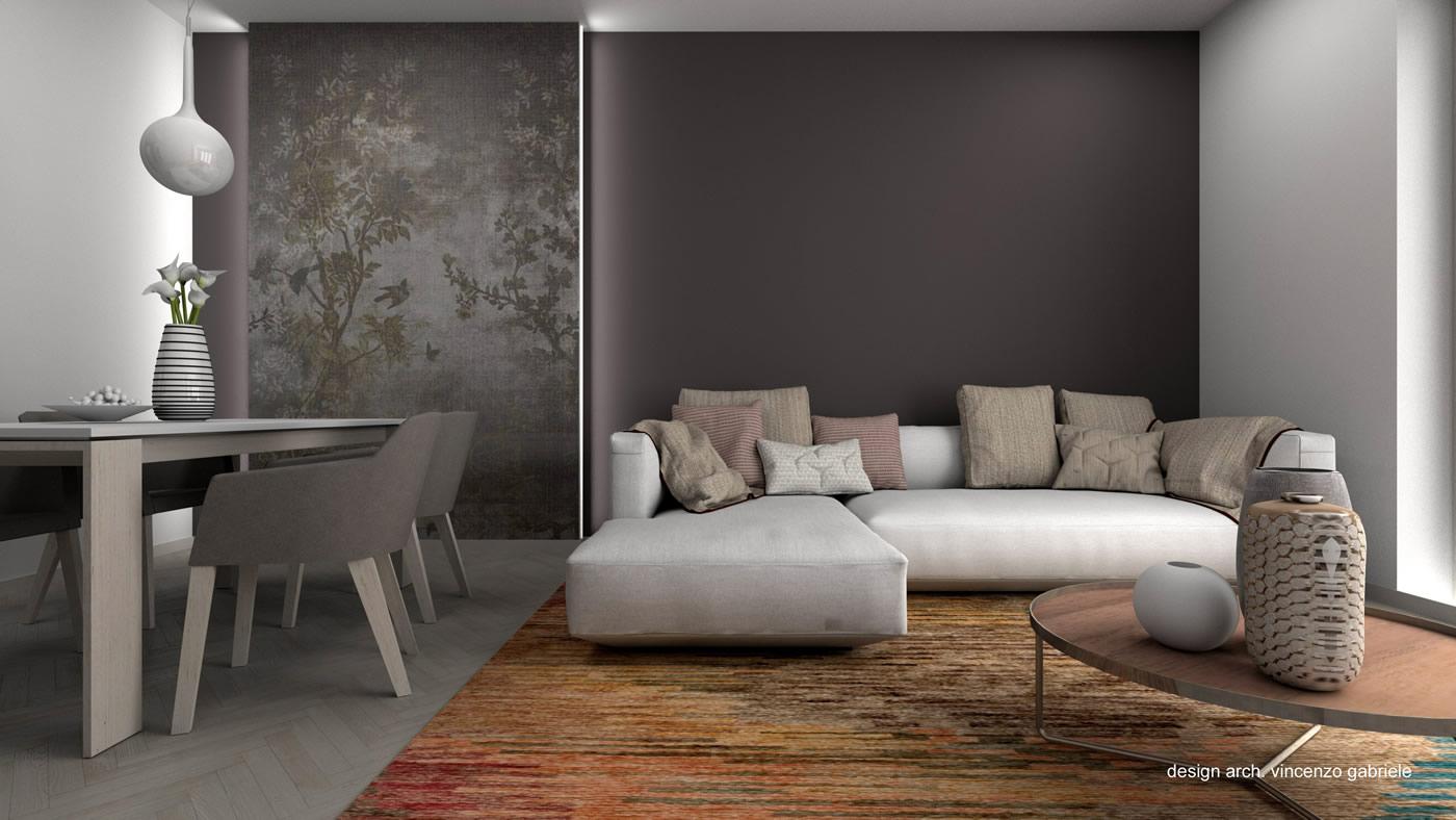 Progettazione di interni for Progetti case interni