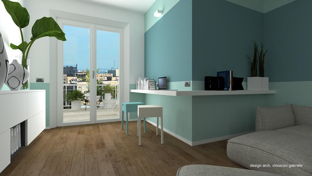 Appartamento 80 mq progetto ristrutturazione for Progetto ristrutturazione appartamento