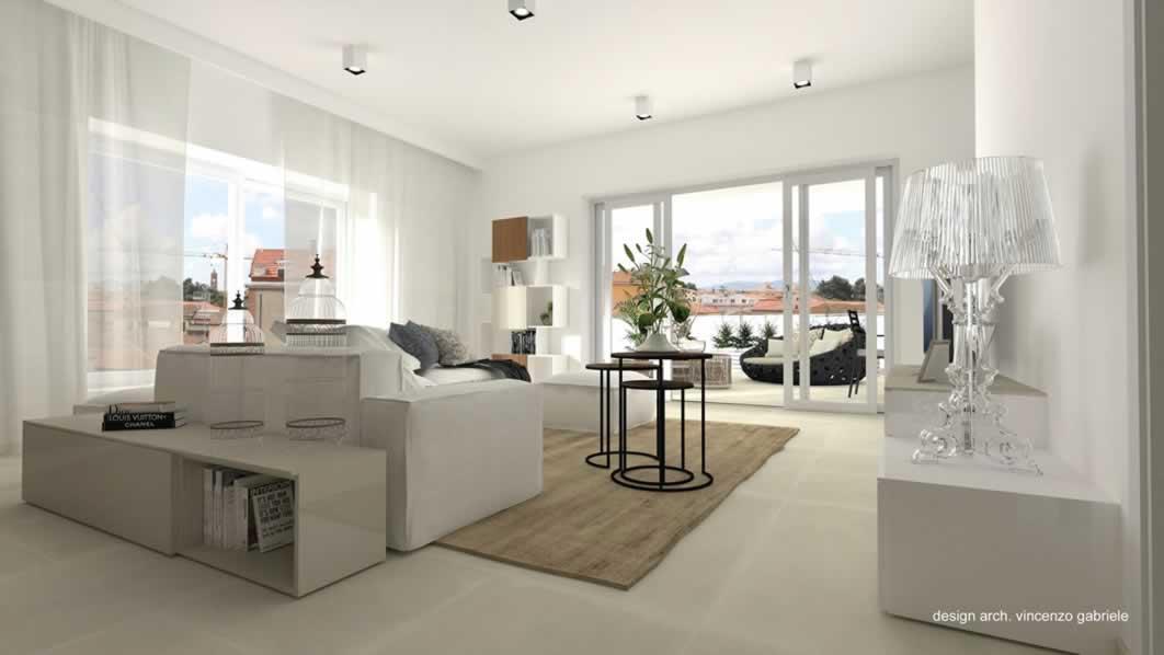 Progetti di interni di case ambienti e attivit commerciali for Design case interni